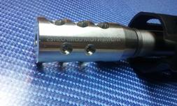 5/8x24 Muzzle Break 308 Stainless Steel with Crush Washer