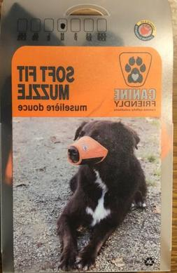 Canine Friendly Canine Safety Solutions Soft Fit Dog Muzzle