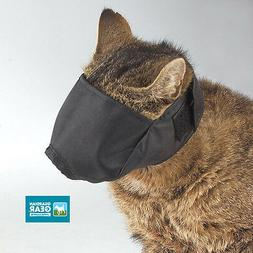 CAT GROOMING TRAINING Quick Easy-Fit Comfort MUZZLE CATS BLA