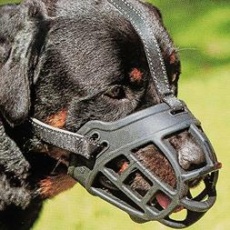 Dog Muzzle,Soft Basket Silicone Muzzles for Dog, Best to Pre