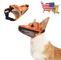 Dog Muzzle Air Mesh Breathable and Drinkable Anti-Biting Ant
