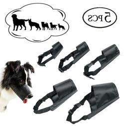 dog muzzles suit adjustable breathable safety small
