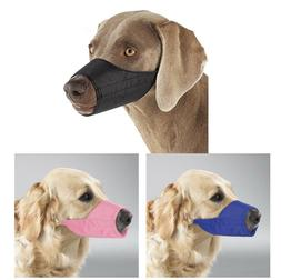 Dog Puppy Lined Muzzle - Guardian Gear - Adjustable Strap -