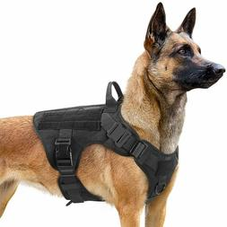 Dog Vest and Muzzle Set - Tactical K9 Military Police Servic
