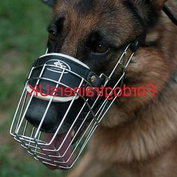 German Shepherd Muzzle for Large Dogs   Big GSD Muzzle for D