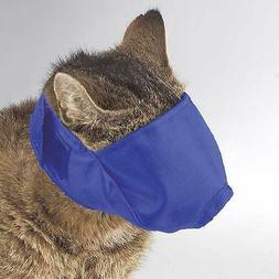 Guardian Gear Lined Nylon Cat Muzzles Pink or Blue Size S-M-