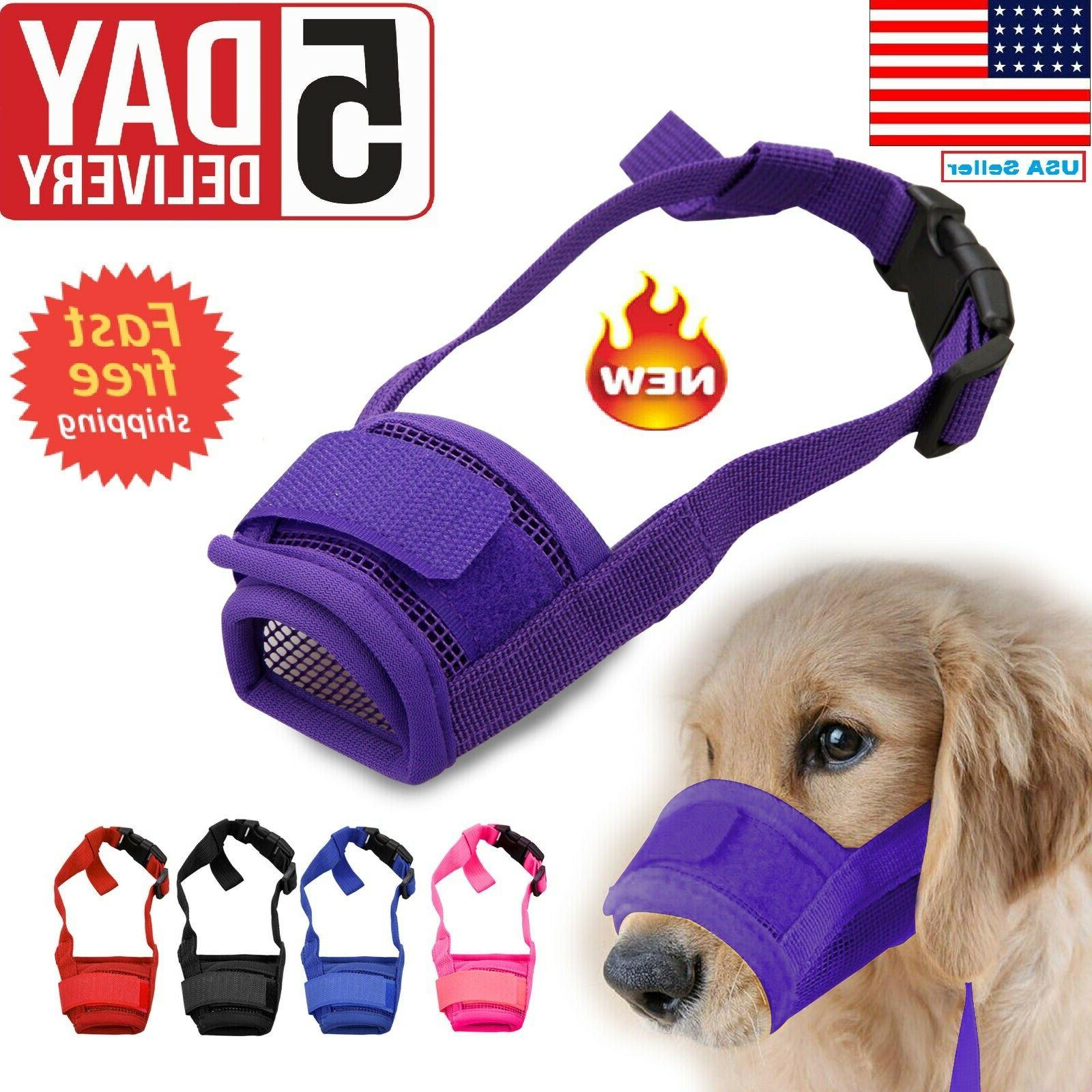adjustable pet dog small and large mouth