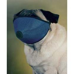 Mesh Dog Muzzle for Short Nose - Flat Faced Dogs,  one size