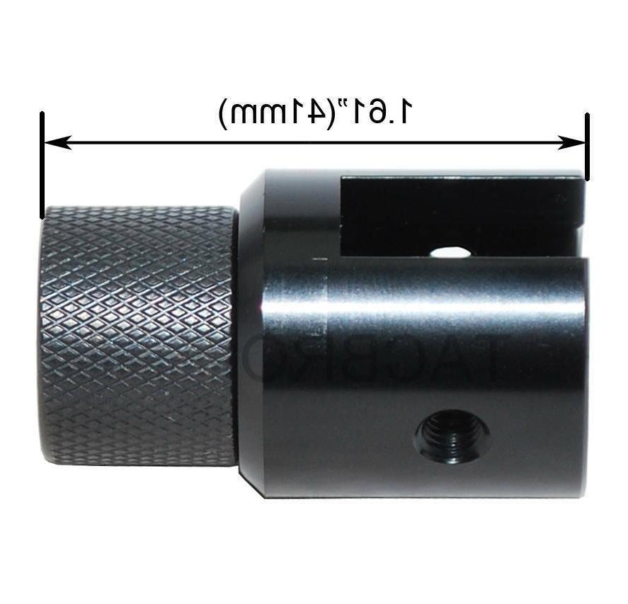 Ruger Muzzle Brake Adapter - Anodized