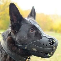 Large Dog Muzzle for German Shepherd for Police K9 Muzzle Tr