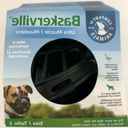 LM Baskerville Ultra Muzzle for Dogs Size 2 - Dogs 12-25 lbs