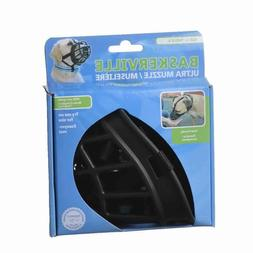 LM Baskerville Ultra Muzzle for Dogs Size 4 - Dogs 40-65 lbs