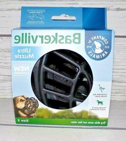 New Baskerville Ultra Muzzle for Dogs Size 2