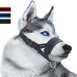 Nylon Dog Muzzle for Small,Medium,Large Dogs Prevent from Bi