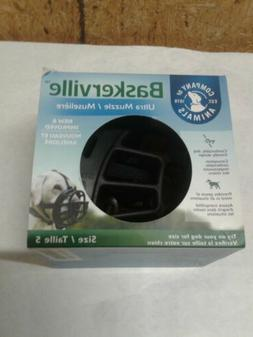 Baskerville Ultra Muzzle Size 5 for Dogs Black,  Treat Frien